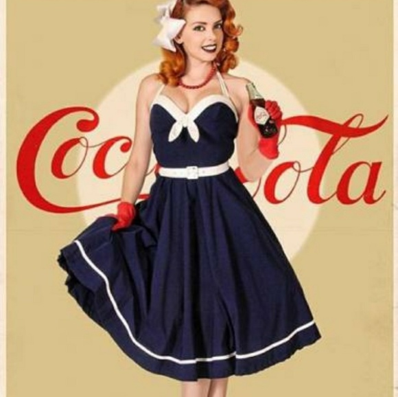 05ad830906fbb Pinup Couture Sailor Swing Dress. M_5b64891b8ad2f9d714b6f88e